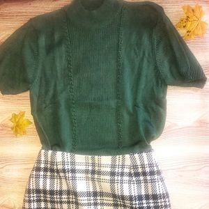 Vintage Jaclyn Smith Sweater Blouse Size Medium